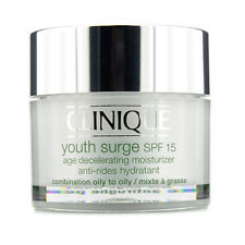 Clinique Youth Surge SPF 15 Age Decelerating Moisturizer 30ml  (For Oily to Oily Skin)
