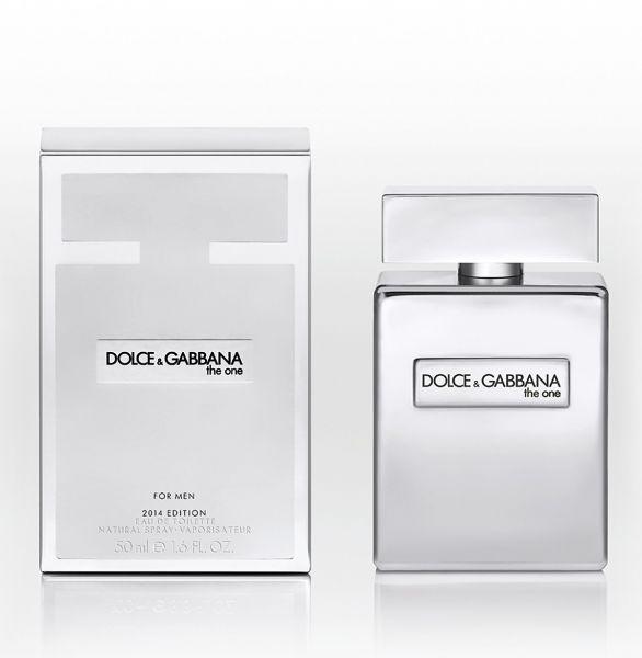 Dolce & Gabbana The One for Men 2014  Platinum Limited Edition  Eau de Toilette 50ml