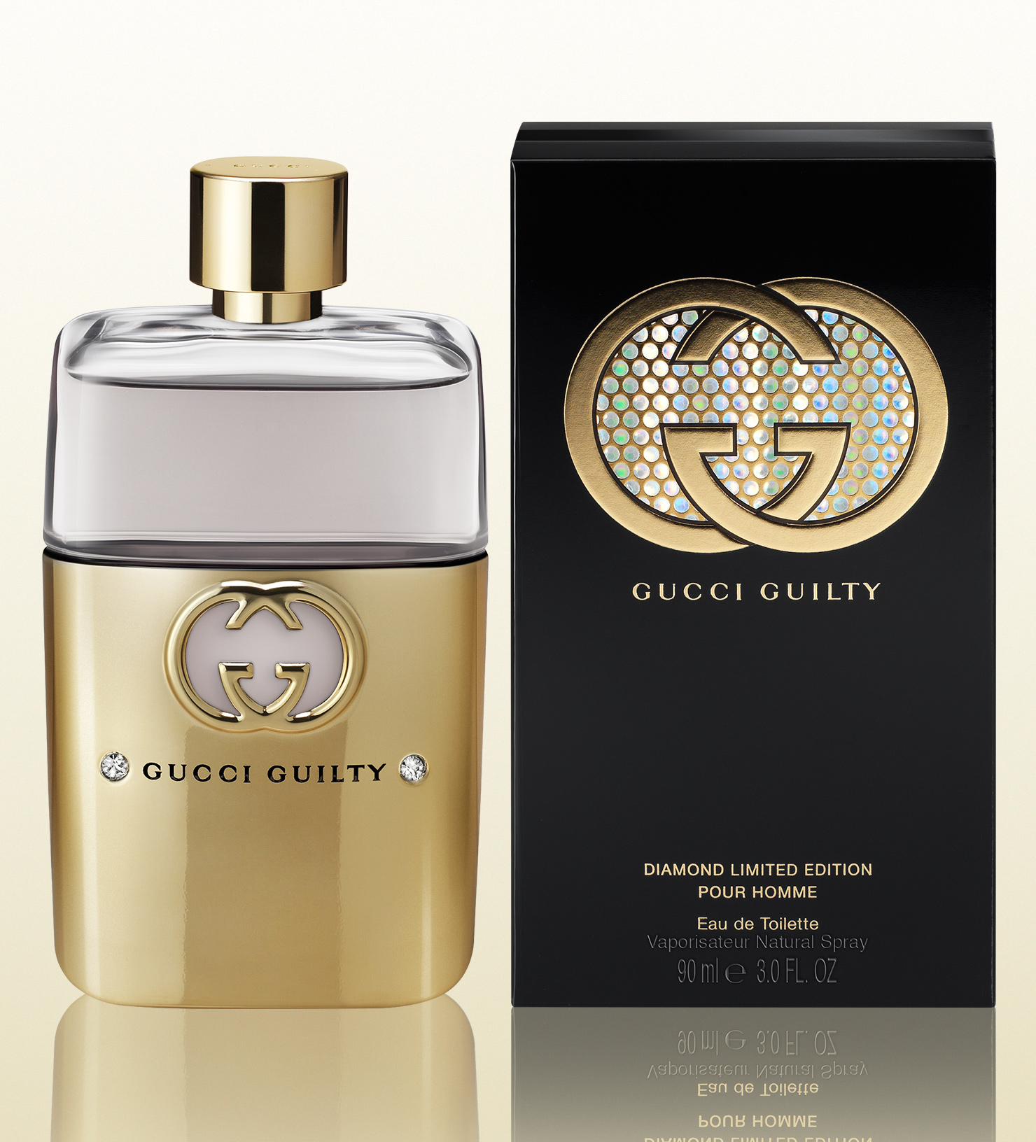 Gucci Guilty Diamond Limited Edition Pour Homme Eau de Toilette 90ml