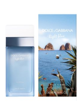 Dolce & Gabbana Light Blue Pour Femme Love In Capri Eau de Toilette 50ml