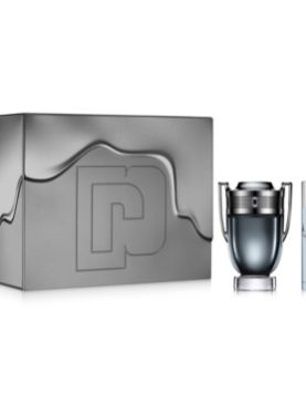 Paco Rabanne Invictus Intense  Eau de Toilette 100ml  & Travel Spray  10ml  gift  set