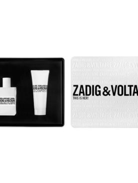 Zadig & Voltaire This is Her!  Eau De Parfum 50ml & Body Lotion 75ml Gift Set