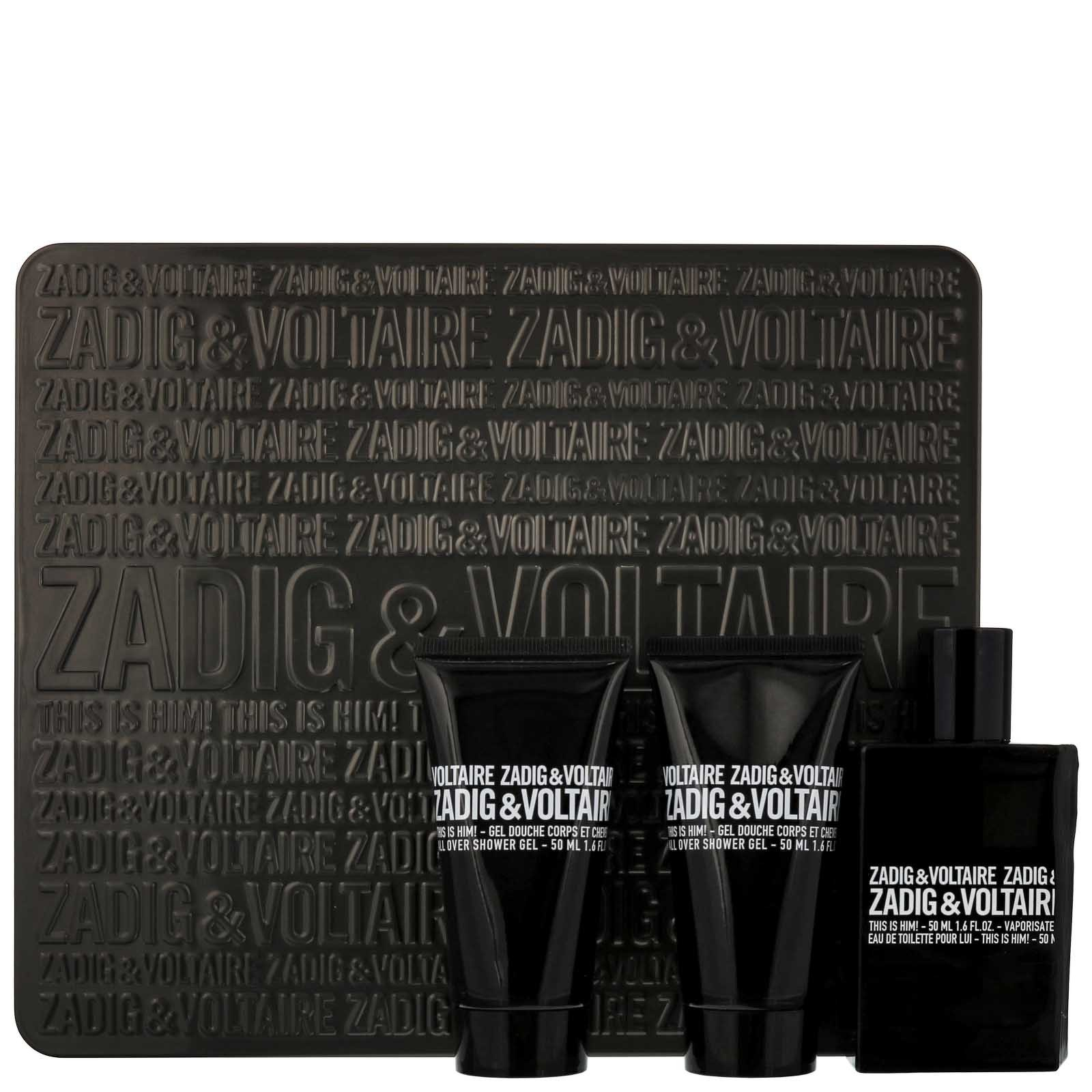 Zadig & Voltaire This Is Him Eau de Toilette 50ml Gift set Happy Him