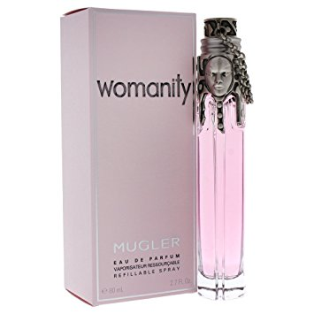 Mugler Womanity Refillable Eau de Parfum 80ml