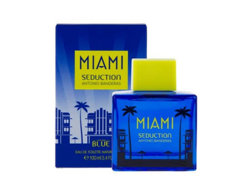 Antonio Banderas Miami Seduction Blue Eau de Toilette 100ml